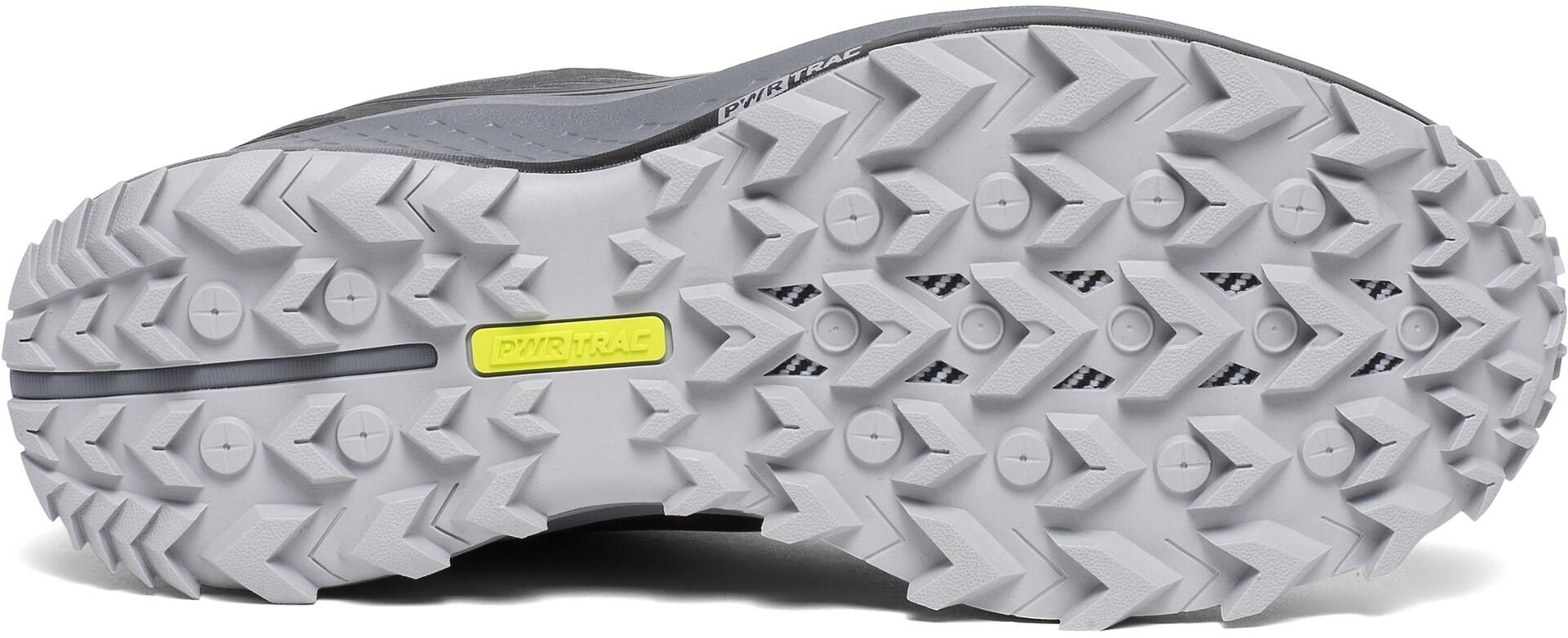 Saucony Peregrine 10 GTX Trail Running Shoe greyblack